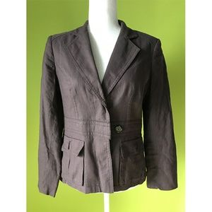 Banana Republic Lapel Buckle Blazer Size 8